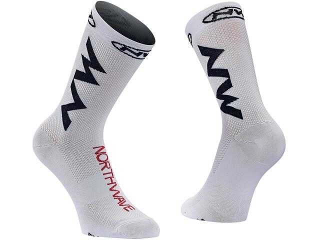 Northwave Extreme Air Fietssokken wit/zwart